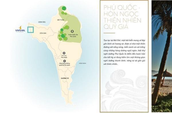 Vị trí đắc địa cho Vinpearl Resort & Villas Phú Quốc