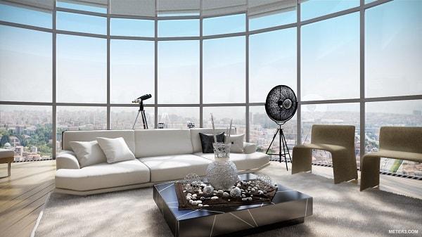 Điểm danh những căn penthouse có tầm view đẹp nhất Hà Nội