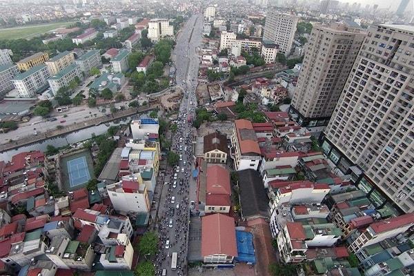 Hà Nội chủ đầu tư đua nhau nhồi chung cư trong ngõ hẹp