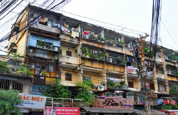 Hà Nội : vẫn loay hoay việc cân đối lợi ích khi cải tạo chung cư cũ