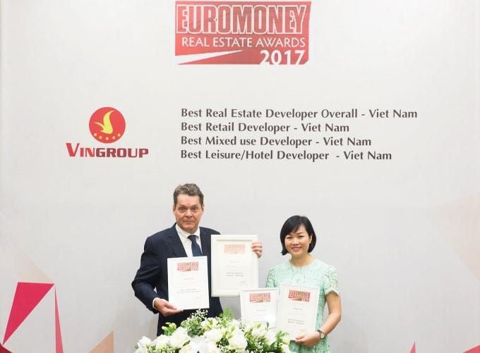 Nhà phát triển bất động sản tốt nhất Việt Nam năm 2017