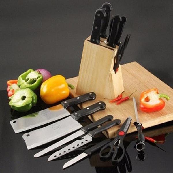 Đủ bộ các loại dao