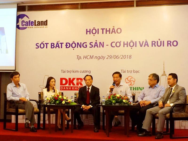 Tình hình thị trường bất động sản Việt Nam nửa cuối năm 2018 2